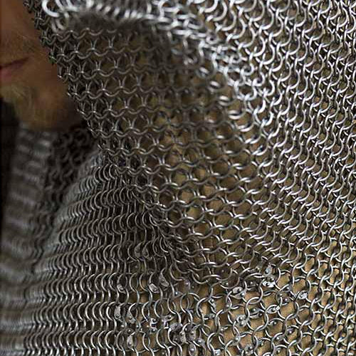 Short Sleeve Chainmail Shirt - Mild Steel