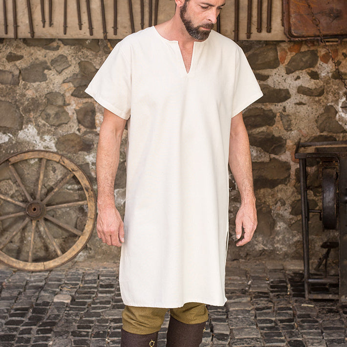Short Sleeve Undertunic - Light Cotton