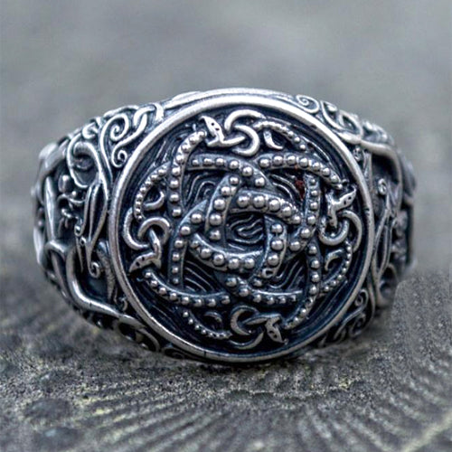 Snake Pit and Serpent Ring - Silver or Gold