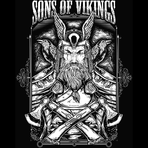 Sons of Vikings - Odin T-Shirt