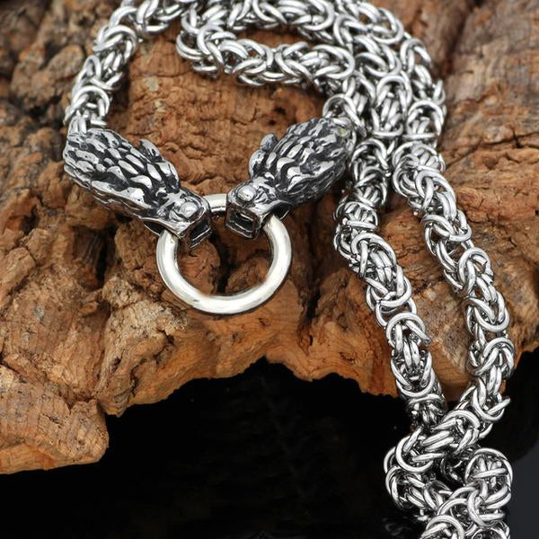 Stainless Steel Kings Chain - Wolves