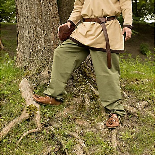 Viking Straight Pants - Canvas