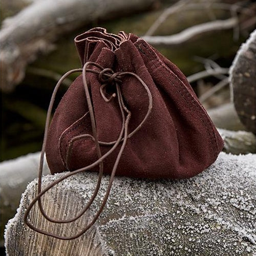 Suede Bag Pouch