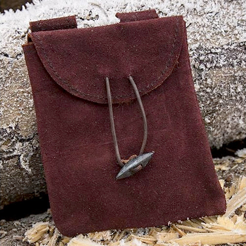 Thin Suede Leather Bag