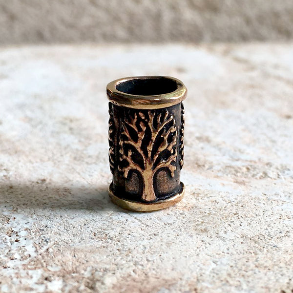 Tree of Life Beard Bead