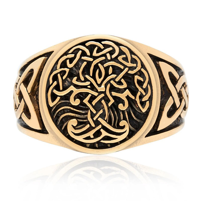 Tree of Life Ring - Bronze