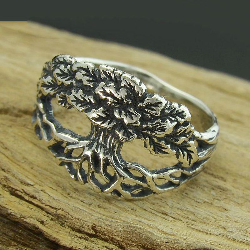 Life Tree Ring - Sterling Silver