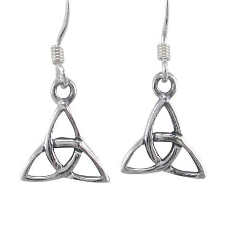 Triquetra Earrings - Sterling Silver