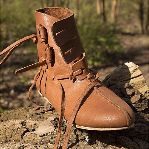 Valland Viking Shoes - Leather