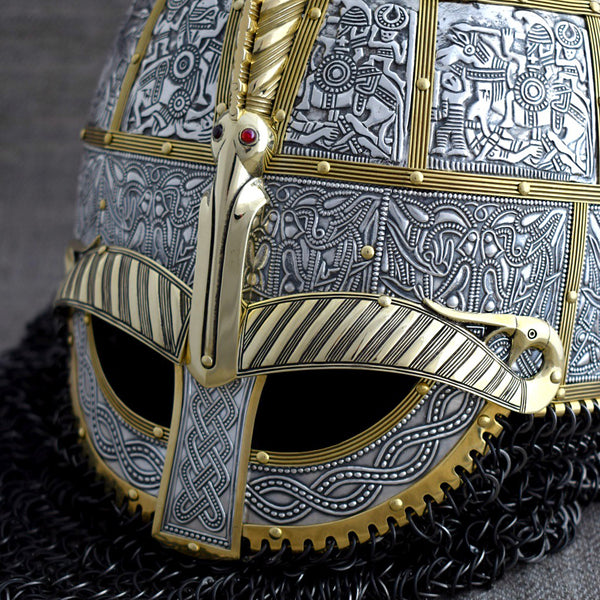 Valsgarde Viking Helmet Replica