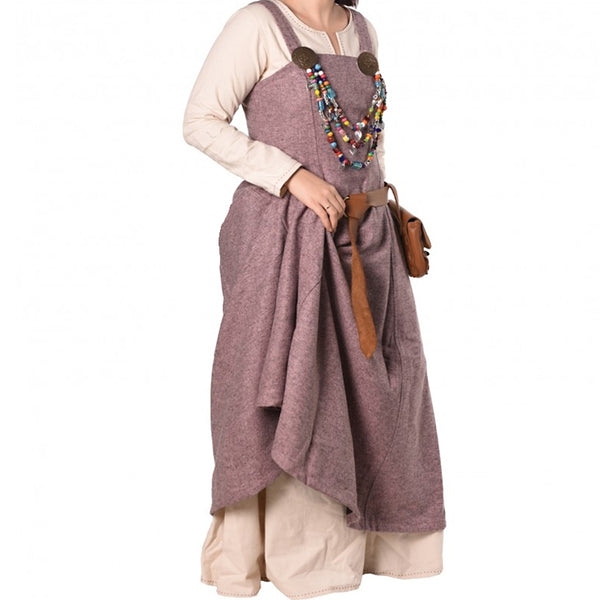 Viking Apron Dress - Wool Mix