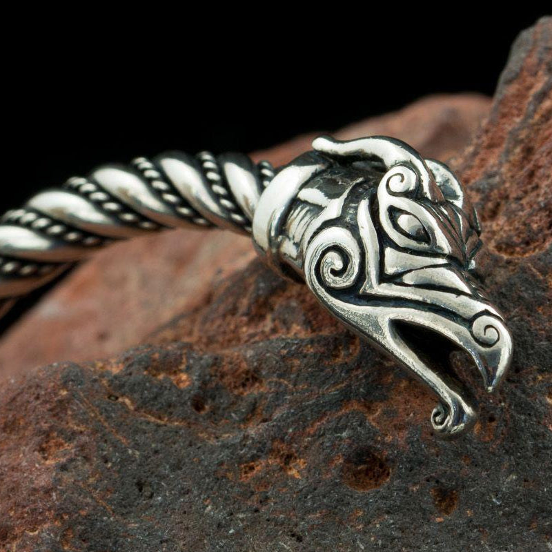 Viking Arm Ring - Sterling Silver