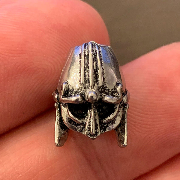 Viking Helmet Beard Bead