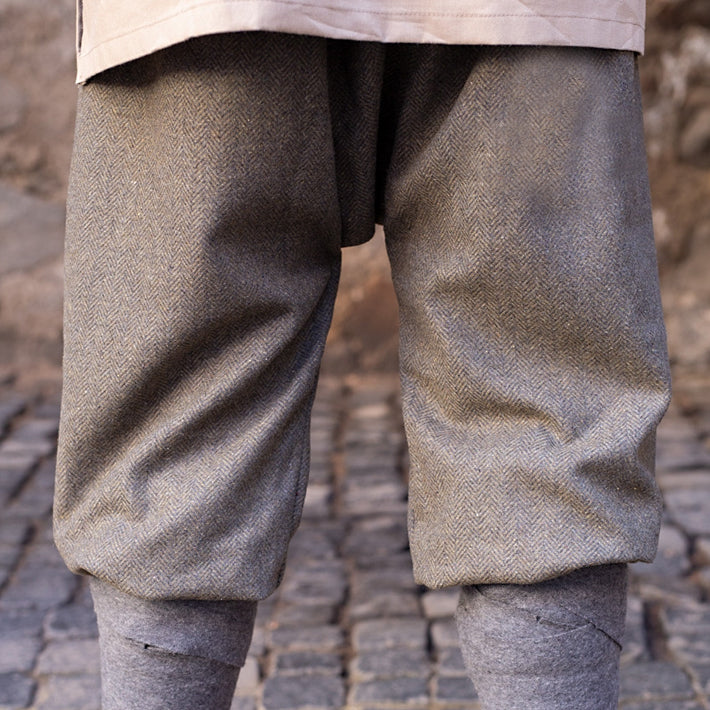 Herringbone Viking Pants - Wool
