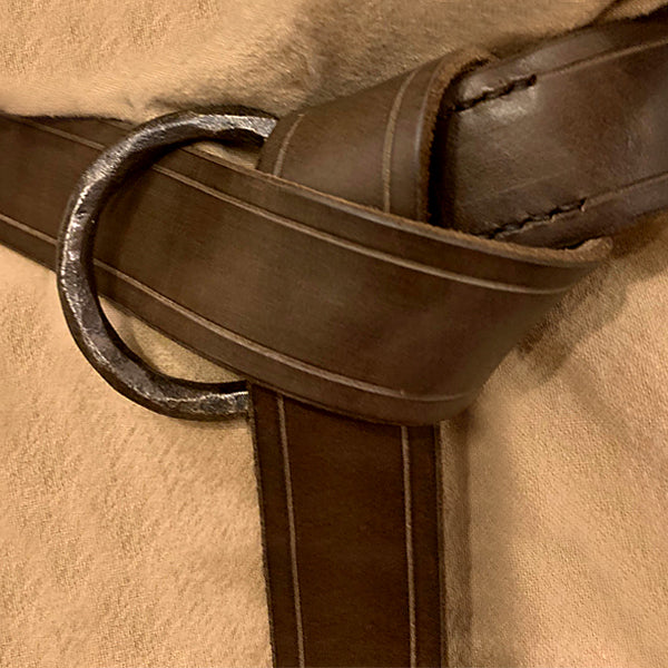 Viking Ring Belt - Leather