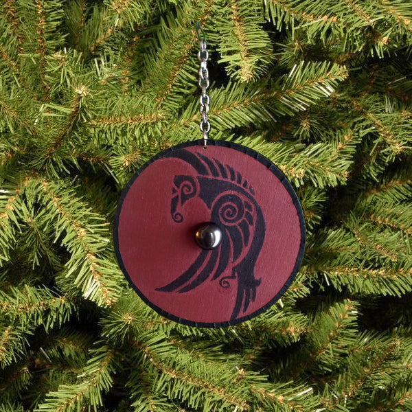 Viking Shield Christmas Ornament