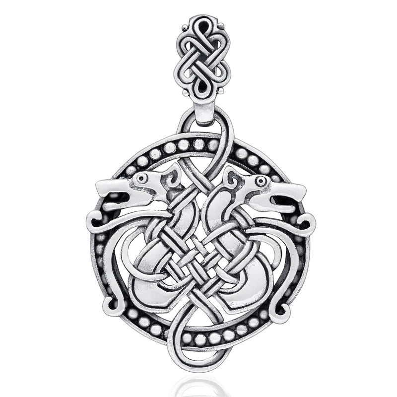Viking Serpent Pendant