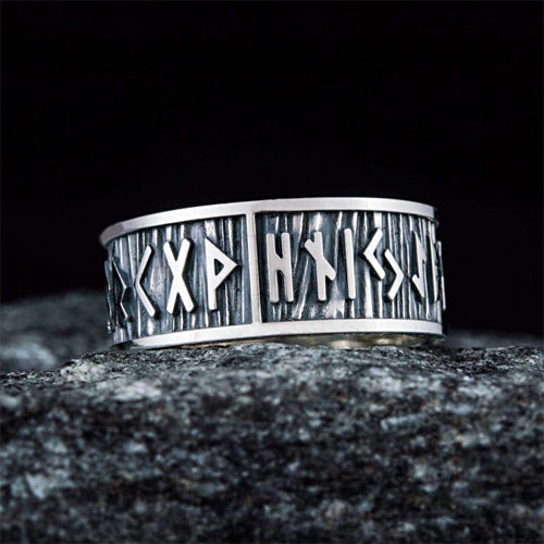 Wedding Rune Ring - Silver or Gold