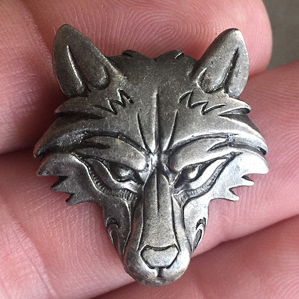 Wolf Pendant - Pewter