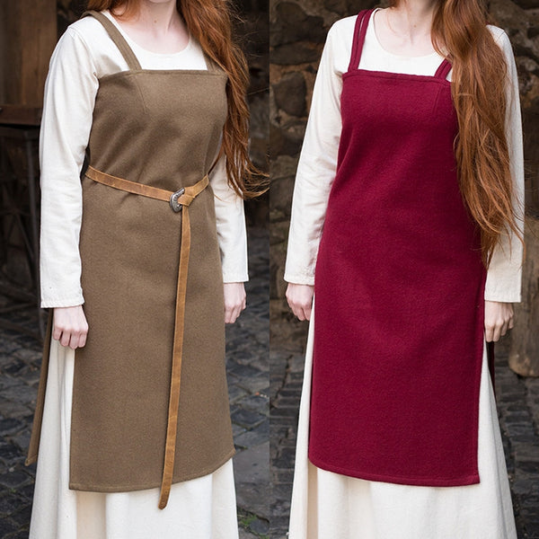 Apron Dress - Wool