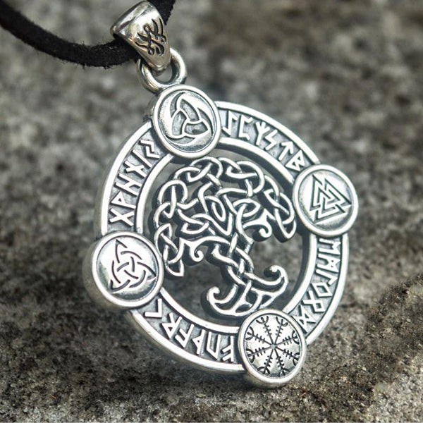 Yggdrasil Amulet - Sterling Silver or Gold