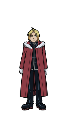 FiGPiN Full Metal Alchemist Brotherhood Edward #353