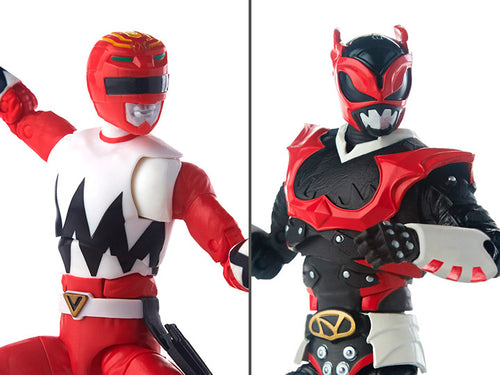Power Rangers Lighting Collection: Lost Galaxy Red Ranger & In Space Psycho Red Ranger Two-Pack