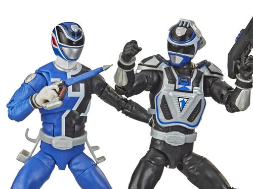 Power Rangers Lighting Collection: S.P.D. B-Squad vs S.P.D. A-Squad Blue Ranger Two-Pack