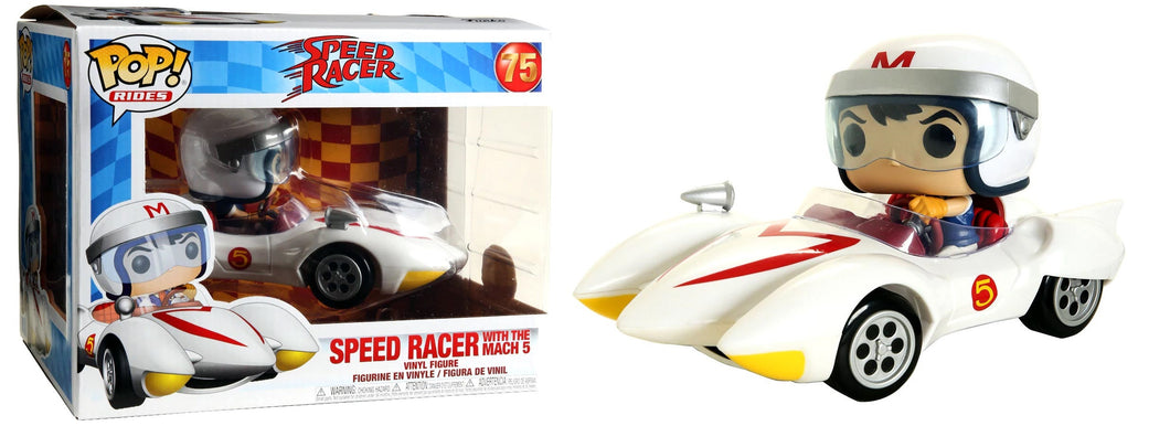 Funko PoP! Rides Speed Racer Speed Racer with Mach 5 #75