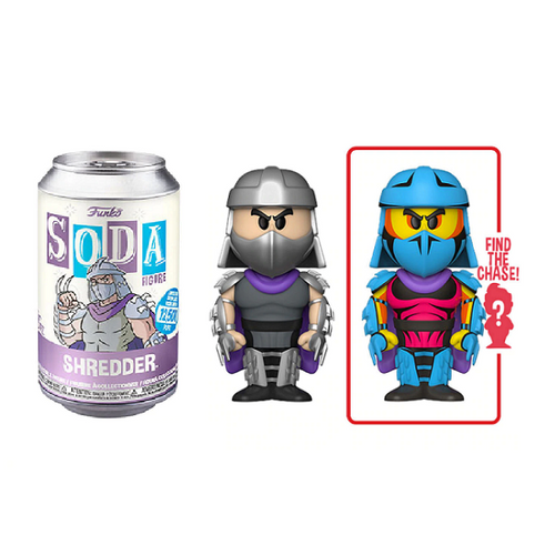 Funko Vinyl Soda Teenage Mutant Ninja Turtles Shredder (Styles May Vary)