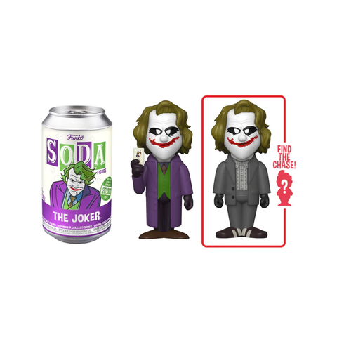 Funko Vinyl Soda The Joker from The Dark Knight Trilogy (Styles May Vary)