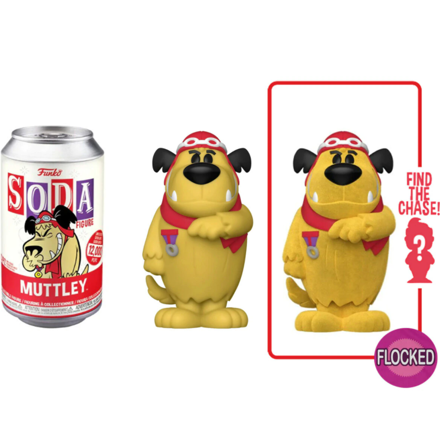 Funko Soda Hanna Barbera Wacky Races Muttley (Styles May Vary)