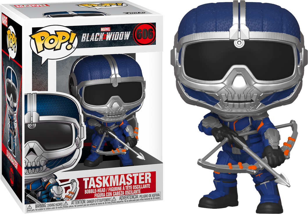 Funko PoP! Marvel Black Widow Taskmaster #606