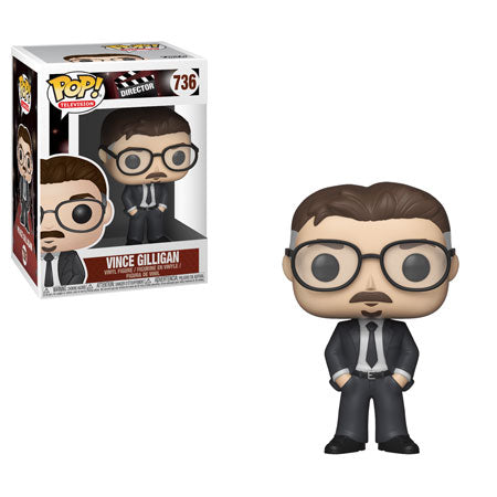 Funko PoP! Movies Directors Vince Gilligan #736