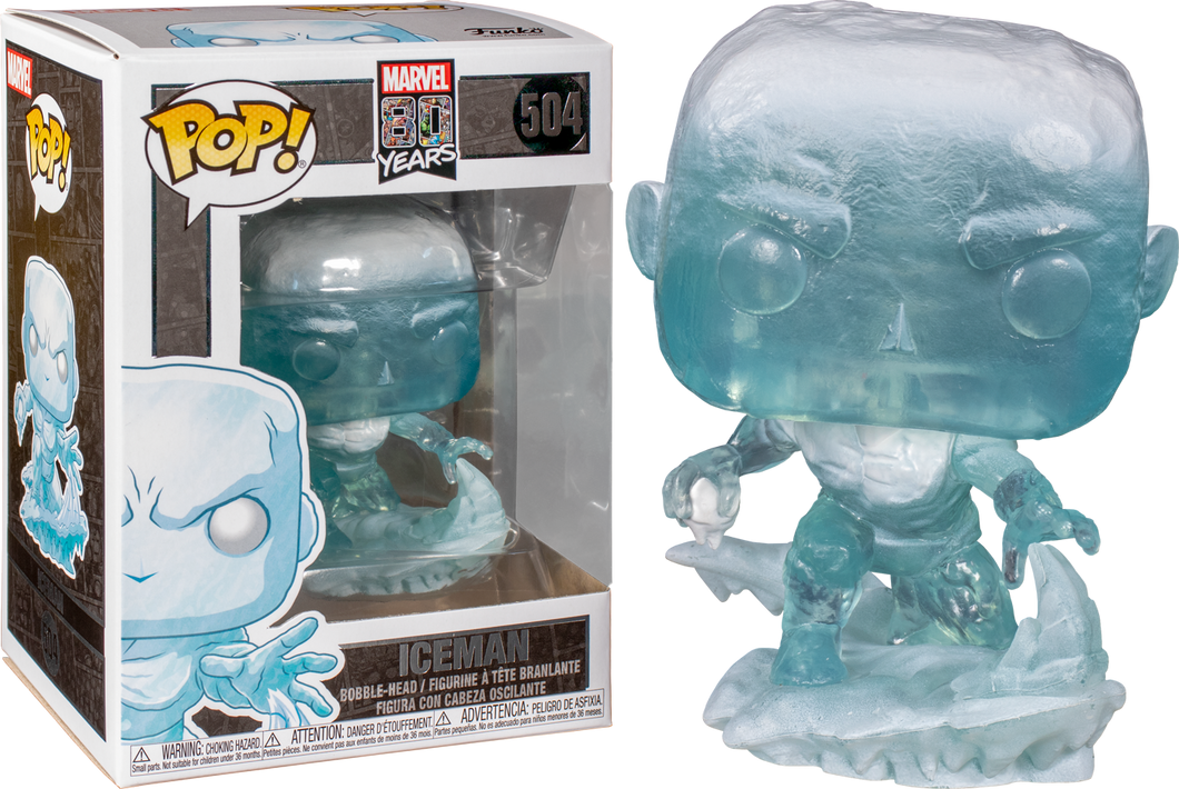 Funko PoP! Marvel 80 Years Iceman #504