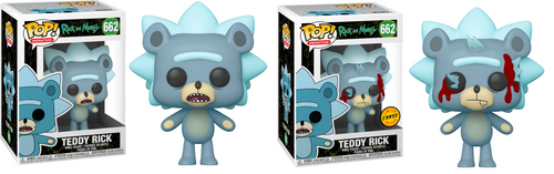 Funko PoP! Animation Rick and Morty Teddy Rick #662 (Styles May Vary)
