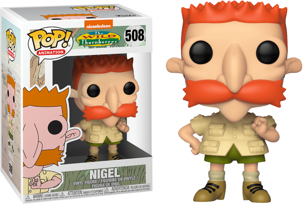 Funko PoP! Animation The Wild Thornberrys Nigel #508