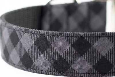 Charcoal Buffalo Plaid Bowtie