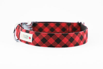 Red Buffalo Plaid Collar