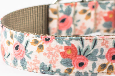 Rosa Floral Peach Leash