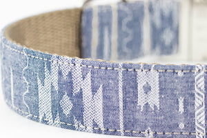 Navajo Chambray Bowtie Collar