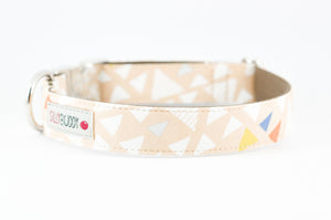 Triangle Print Dog Collar