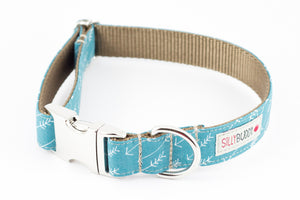 Arrow Ocean Bowtie Collar