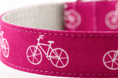Pink Bicycle Leash
