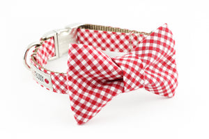 Red Gingham Bowtie