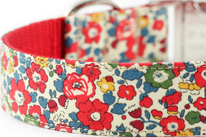 Betsy Ann Red Bowtie Collar