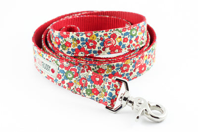 Betsy Ann Red Leash