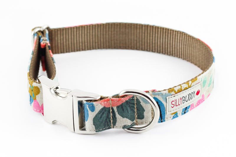 Rosa Natural Flower Collar