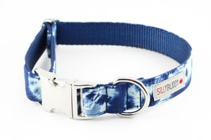 Shibori Dog Collar