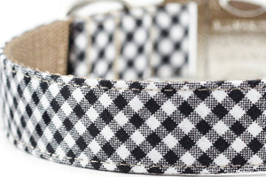 Black Gingham Leash